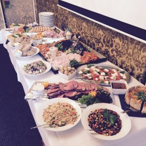 function room buffet