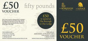 The Lodge & The Borough Gift Voucher £50